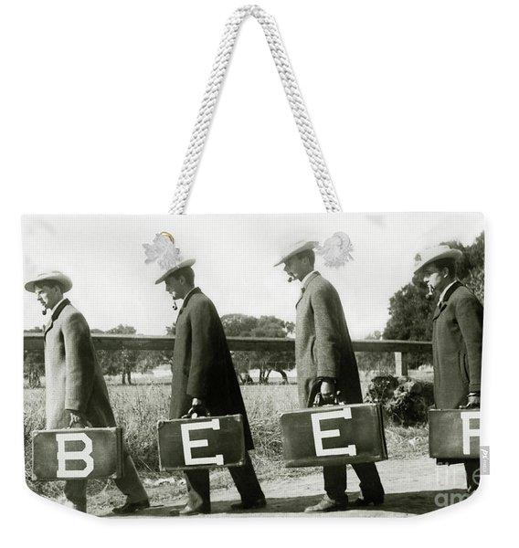 The Beer Boys Weekender Tote Bag