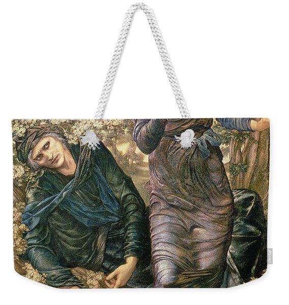 The Beguiling Of Merlin Weekender Tote Bag