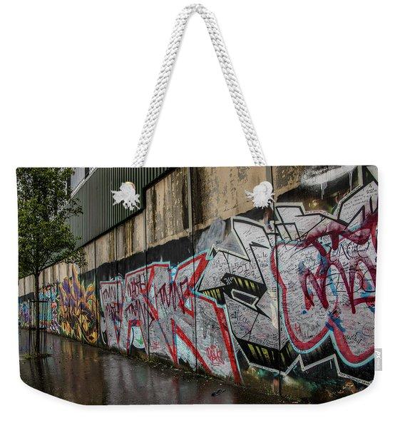 The Belfast Peace Wall Weekender Tote Bag