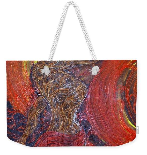 The Belly Dancer Weekender Tote Bag