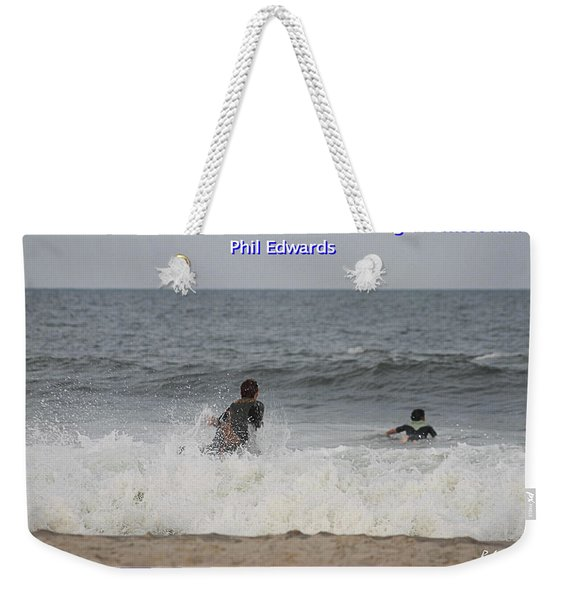 The Best Surfer Weekender Tote Bag