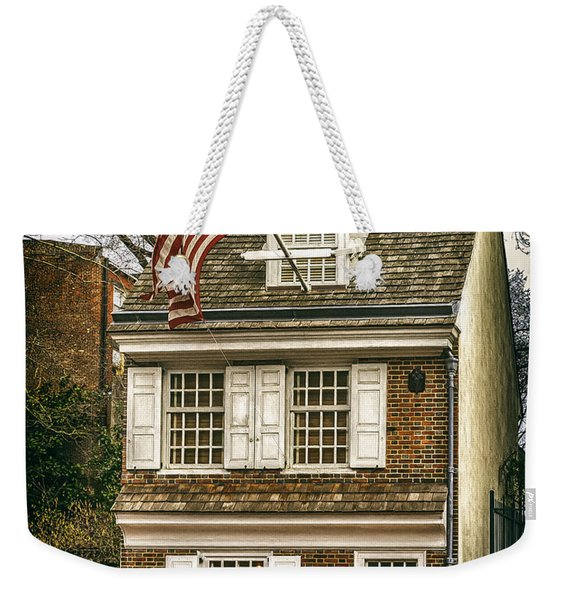 The Betsy Ross House Weekender Tote Bag