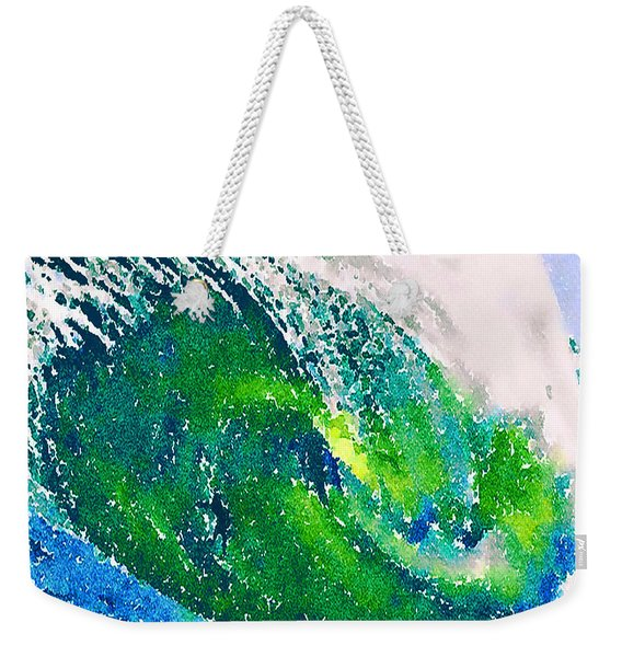 The Big Green Weekender Tote Bag