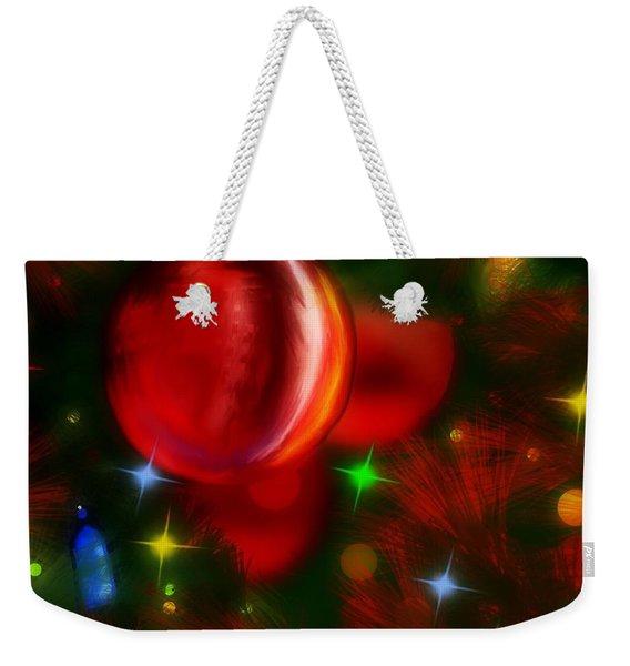 The Big Red Weekender Tote Bag