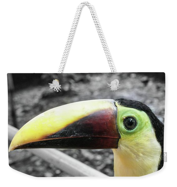 The Big Toucan Weekender Tote Bag