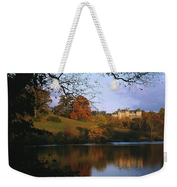 The Biltmore Estate Is Reflected Weekender Tote Bag