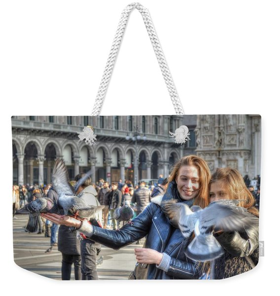 The Birds Of Milan Weekender Tote Bag