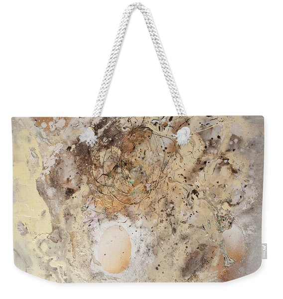 The Birth Of Universe Abstract Weekender Tote Bag