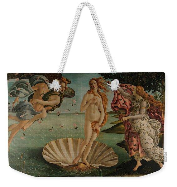 The Birth Of Venus, Original Weekender Tote Bag