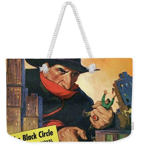 The Shadow The Black Circle Weekender Tote Bag