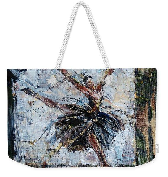 The Black Swan Weekender Tote Bag