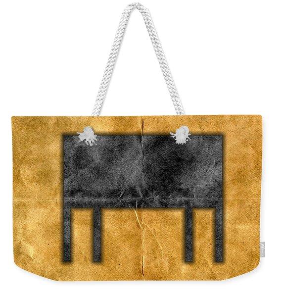 The Black Table Weekender Tote Bag