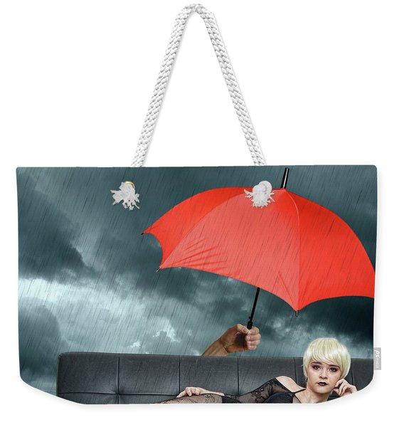 The Black Widow Weekender Tote Bag
