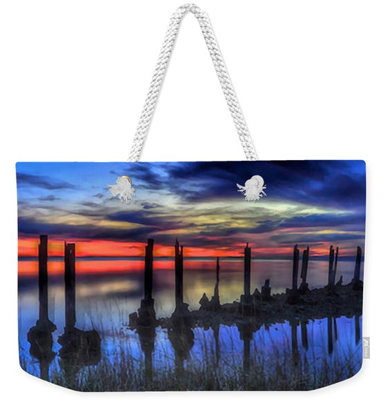 The Blue Hour Comes To St. Marks #2 Weekender Tote Bag
