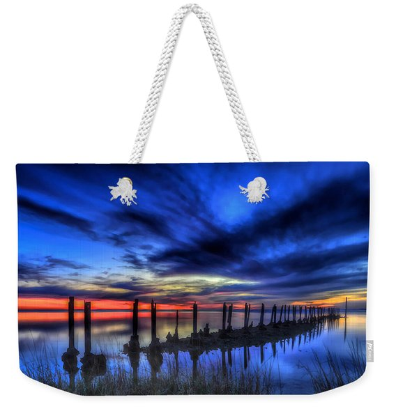The Blue Hour Comes To St. Marks #1 Weekender Tote Bag