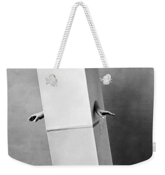 The Blue Law Girl Weekender Tote Bag
