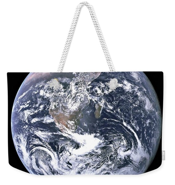 The Blue Marble Taken By Astronauts Aboard Apollo 17 In 1972 Weekender Tote Bag