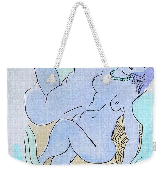 The Blue Nude Weekender Tote Bag