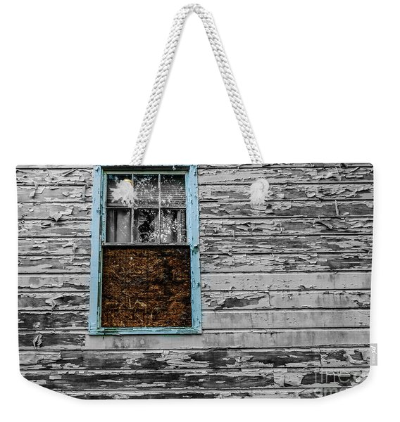 The Blue Window Weekender Tote Bag