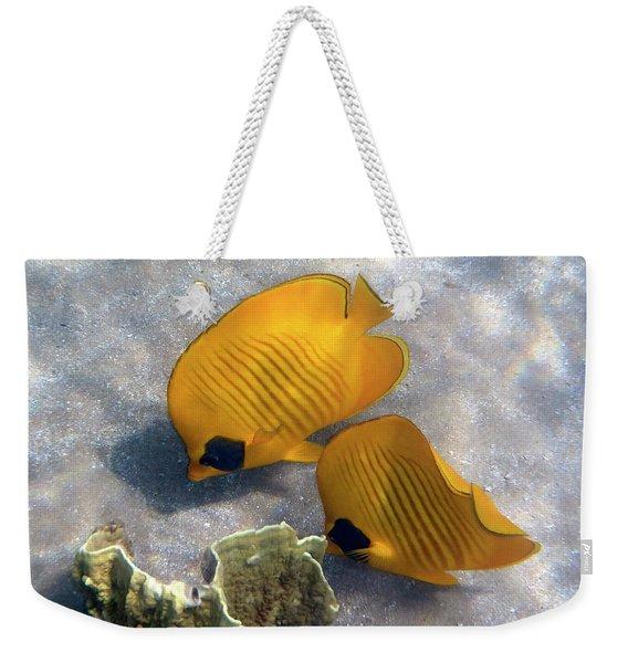 The Bluecheeked Butterflyfish Weekender Tote Bag