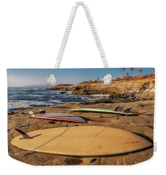 The Boards Weekender Tote Bag