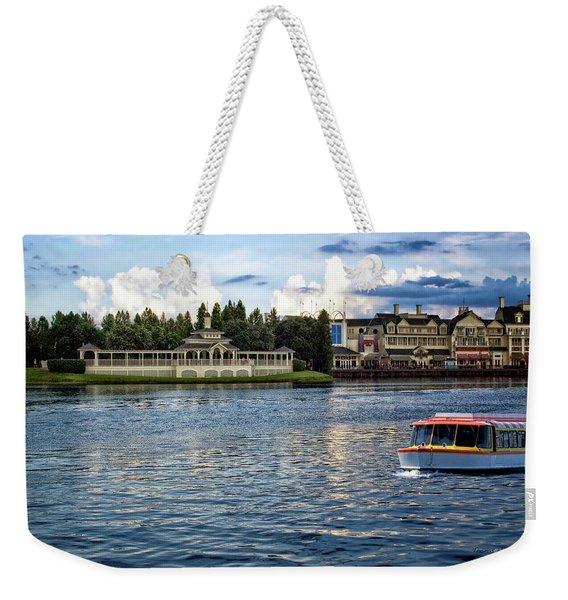 The Boardwalk Gazebo Walt Disney World Mp Weekender Tote Bag