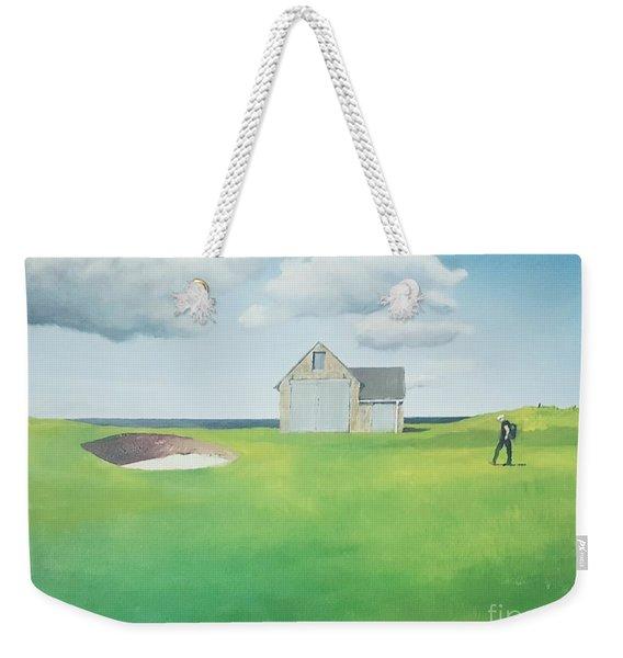 The Boathouse Weekender Tote Bag