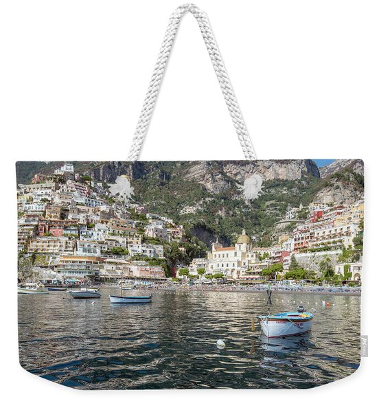 The Boats Of Positano  Weekender Tote Bag