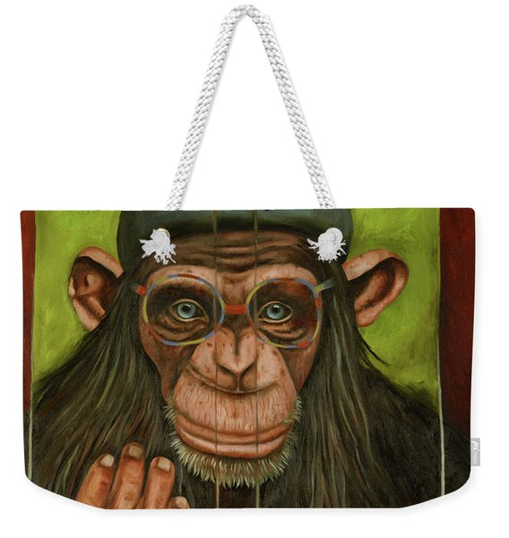 The Book Of Chimps Weekender Tote Bag