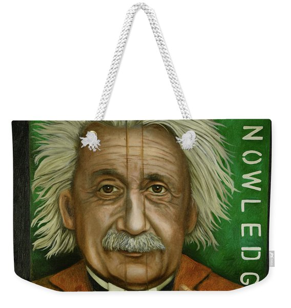 The Book Of Knowledge  Weekender Tote Bag