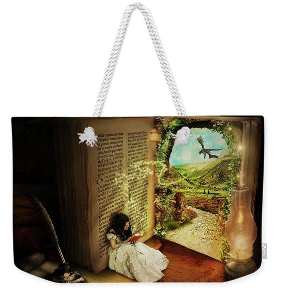 The Book Of Secrets Weekender Tote Bag