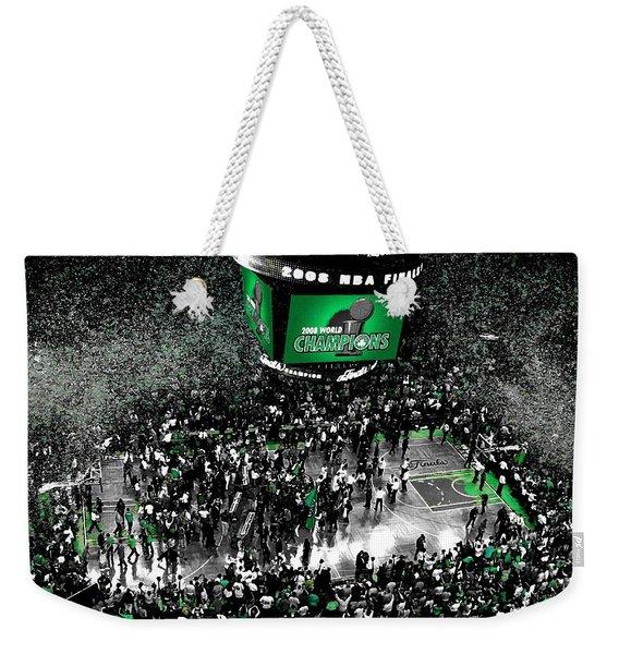 The Boston Celtics 2008 Nba Finals Weekender Tote Bag