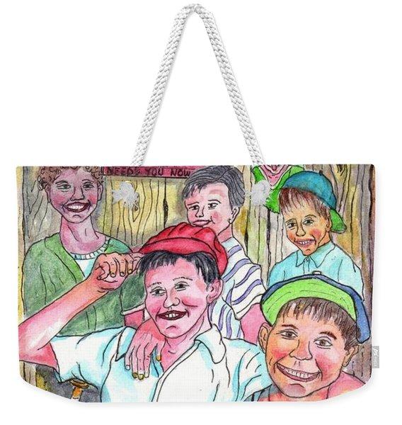 The Boys Of Spring Weekender Tote Bag