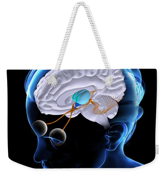The Brain And Sight Weekender Tote Bag