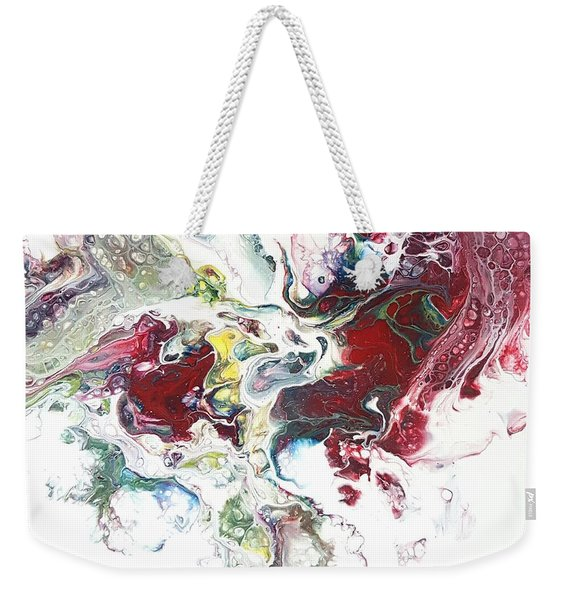 The Breath Of The Crimson Dragon Weekender Tote Bag