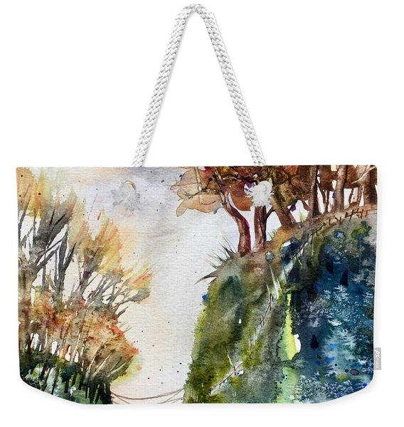 The Bridge Between Two Worlds Weekender Tote Bag
