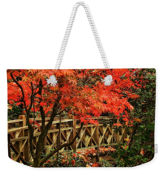 The Bridge In The Park Weekender Tote Bag