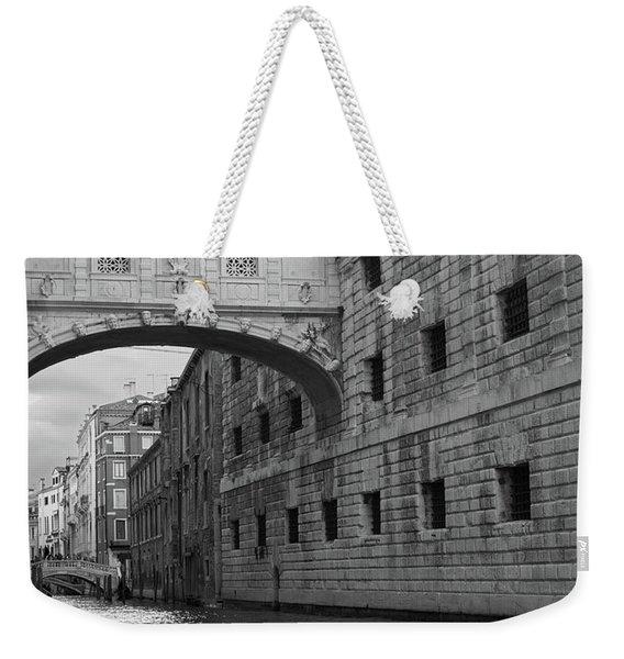 The Bridge Of Sighs, Venice, Italy Weekender Tote Bag