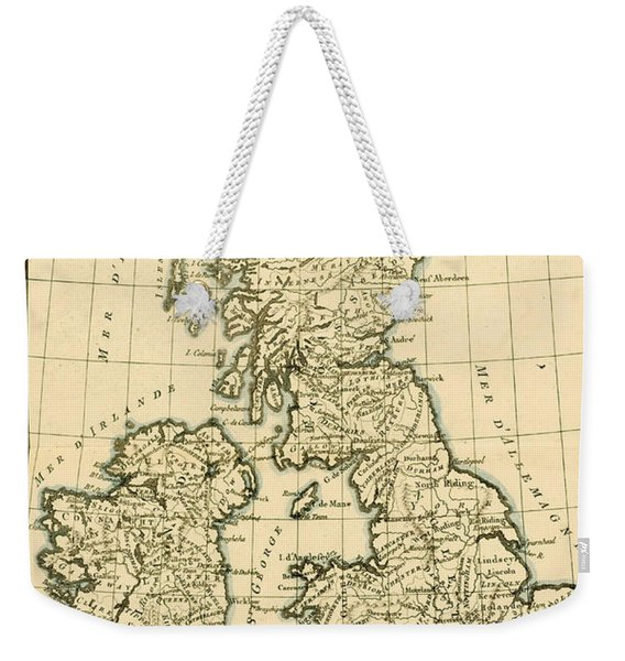 The British Isles Weekender Tote Bag