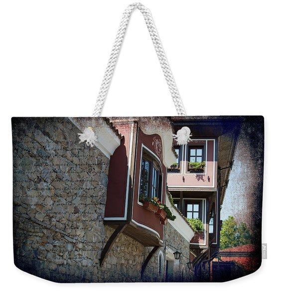 The Brown House Weekender Tote Bag
