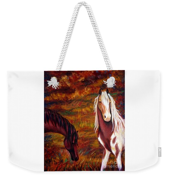 The Browns And The Paints Weekender Tote Bag
