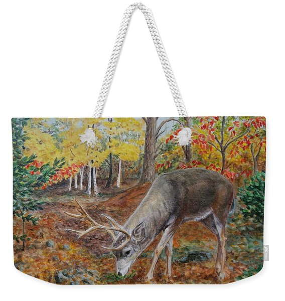 The Buck Stops Here Weekender Tote Bag
