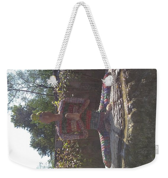 The Buddha Weekender Tote Bag
