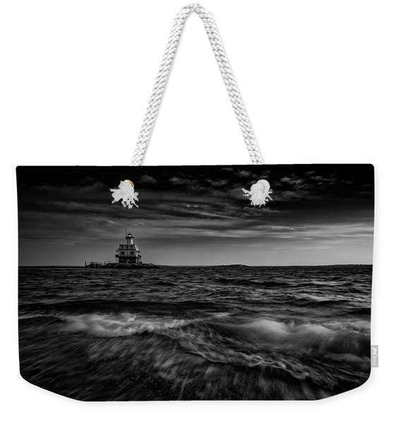 The Bug Light, Greenport Ny Weekender Tote Bag