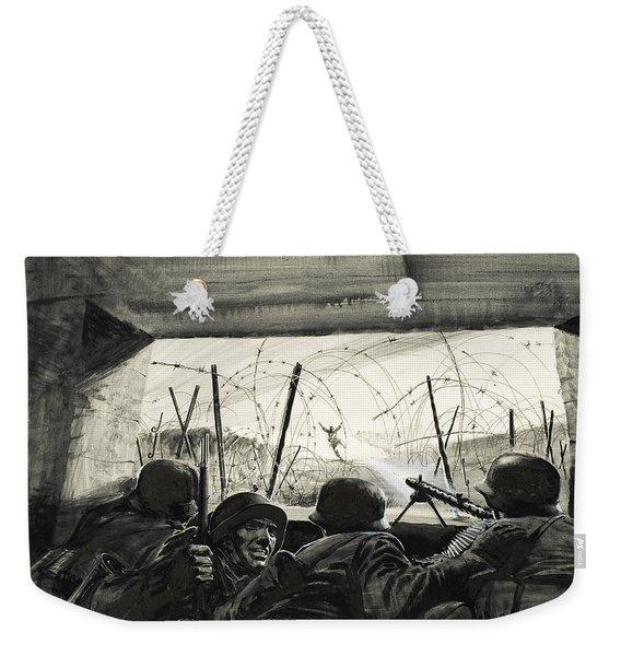 The Bunker  Weekender Tote Bag
