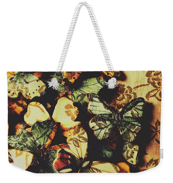 The Butterfly Loft Weekender Tote Bag