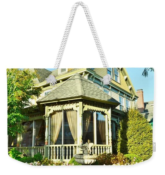 Weekender Tote Bag featuring the photograph The Buttery Restaurant In Lewes Delaware by Kim Bemis
