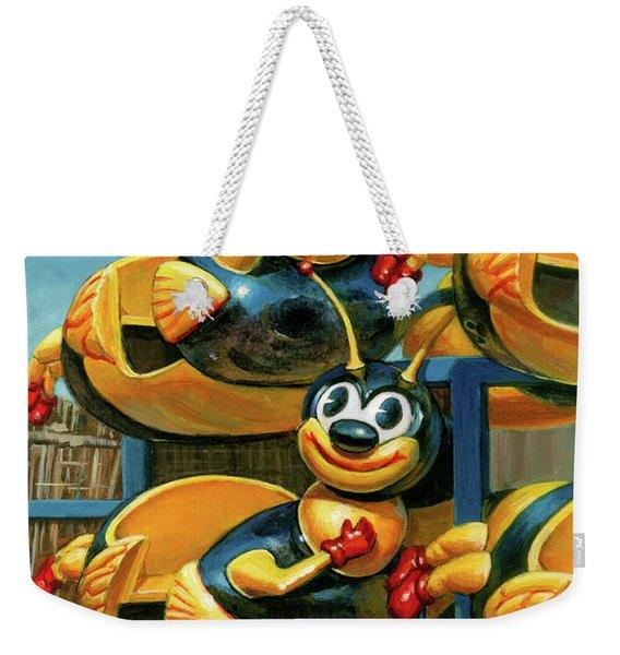 The Buzz Weekender Tote Bag