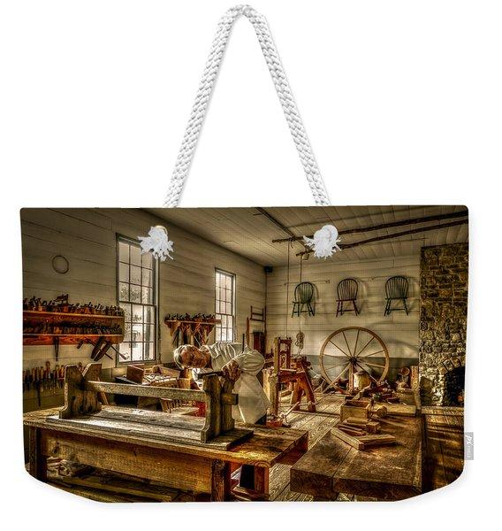 The Cabinetmaker Weekender Tote Bag