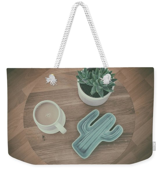 The Cactus Weekender Tote Bag